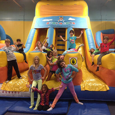 Bounce & Inflatable Party Places | Kids Birthday Party Center Near Me